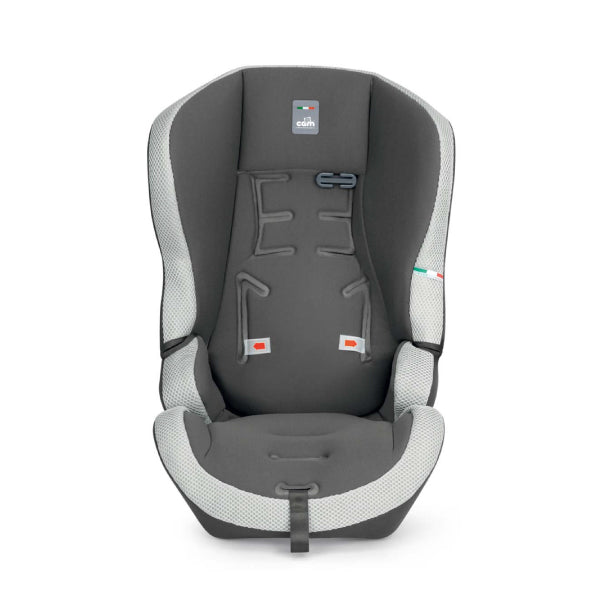 CAM Travel Evolution Safety Car Seat - Grey