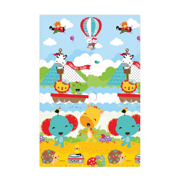 Fisher-Price XPE Puzzle Mat - 6 pcs