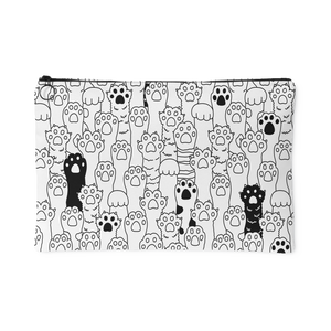 Kitty Paws Large Accessory Pouch