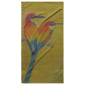 Beautiful Bird Towel