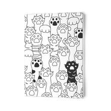 Load image into Gallery viewer, Kitty Paws Greeting Card Set (Folded)
