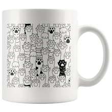 Load image into Gallery viewer, Kitty Paws Coffee Mug