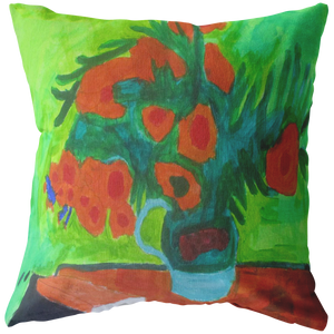 Van Gogh's Sunflowers Pillow