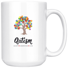 Load image into Gallery viewer, Exclusive Autism Tree Mug