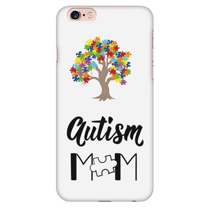 Autism Tree with Mom Phone Case