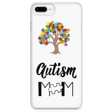 Load image into Gallery viewer, Autism Tree with Mom Phone Case