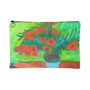 Van Gogh's Sunflowers Accessory Pouch