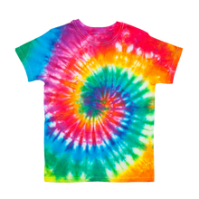 "Load image into Gallery viewer, ""Spiral Out"" Tie Dye T-shirts"