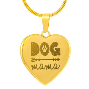 Exclusive Dog Mama Gold Plated Necklace