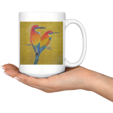 Load image into Gallery viewer, Beautiful Bird 15oz mug