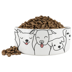 Doggie Friends Dinner Bowl