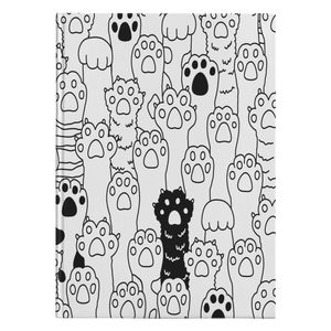 Kitty Paws Hardcover Journal