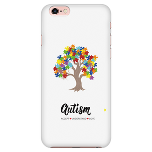 Autism Tree Phone Case - smaller font