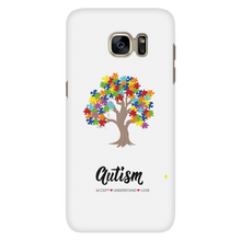 Load image into Gallery viewer, Autism Tree Phone Case - smaller font