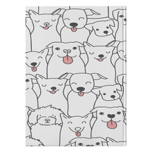 Load image into Gallery viewer, Doggie Friends  Hardcover Journal