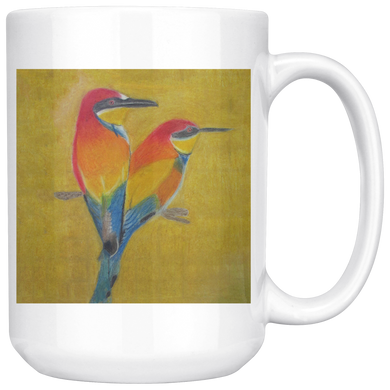 Beautiful Bird 15oz mug
