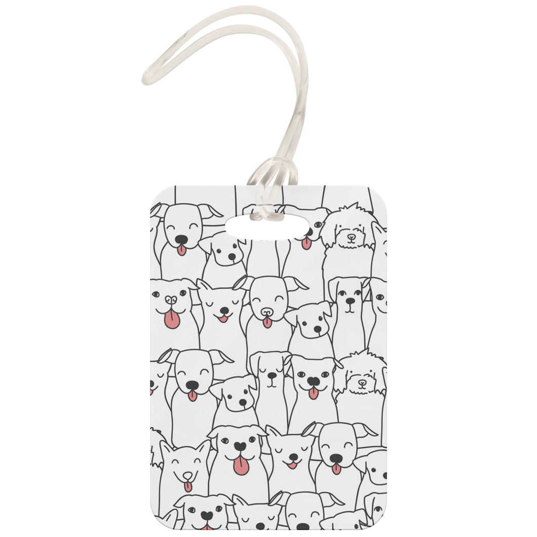 Doggie Friends Luggage Tag