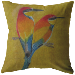 Beautiful Bird Pillow
