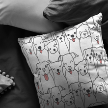 Load image into Gallery viewer, Doggie Friends Pillow