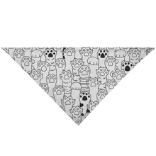 Load image into Gallery viewer, Kitty Paws Pet Bandana