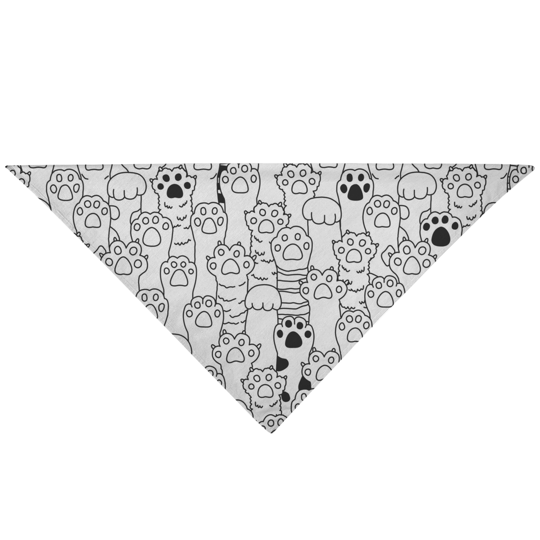 Kitty Paws Pet Bandana
