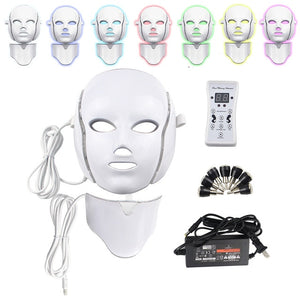 7 Color LED Facial & Neck Mask