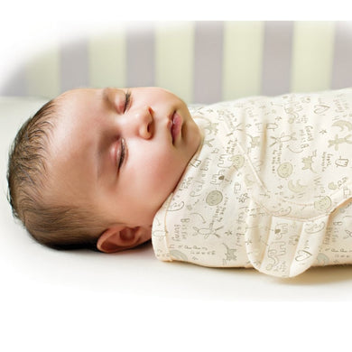Newborn Baby Swaddle Wrap Blanket - 100% Cotton