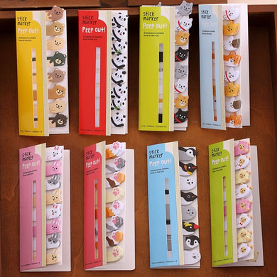 Mini Cute Animal Memo Pad Sticky Notes