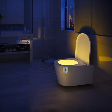 Motion Activated UV Sterilization light  for Toilet