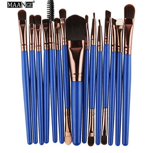 Beauty Tool Kit - 15 Piece Makeup Brush Set