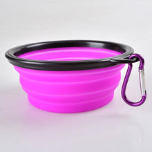 Load image into Gallery viewer, Collapsible Silicone Pet Bowl