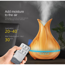 Load image into Gallery viewer, KBAYBO 400ml Ultrasonic Essential Oil Diffuser