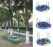 "Load image into Gallery viewer, Giant 40"" Saucer Tree Swing - Multi-colors"