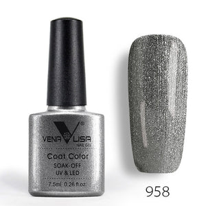60 ODOR FREE colors 7.5Ml Soak Off Enamel Gel Polish