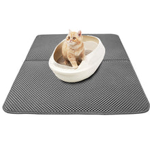 Load image into Gallery viewer, Waterproof Double-layer Cat Litter Catcher Mat