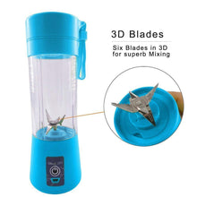 Load image into Gallery viewer, USB Portable 6 Blade Blender