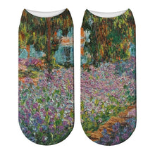 Load image into Gallery viewer, Classic Oil Painting Socks - Claude Monet