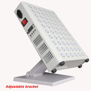 60 LED Red & Infrared Light Panel with adjustable table-top stand.