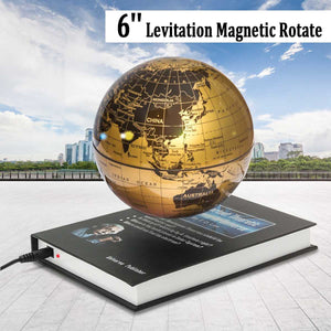 Floating Magnetic World Globe