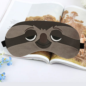Cartoon Sleep Eye Mask  with or without  Cold Gel Packs