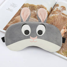 Load image into Gallery viewer, Cartoon Sleep Eye Mask  with or without  Cold Gel Packs