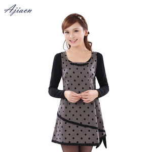 EMF Protective Polka Dot Dress
