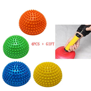 4PCS  Hemisphere Stepping Stones for  Balance Training