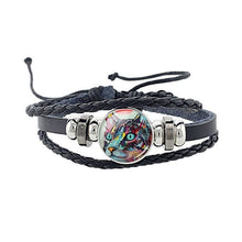 Load image into Gallery viewer, Cat Charm Leather Bracelet