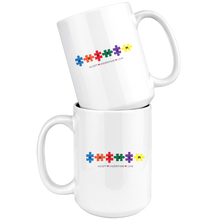 Load image into Gallery viewer, Autism Puzzle Mug