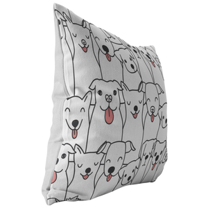 Doggie Friends Pillow
