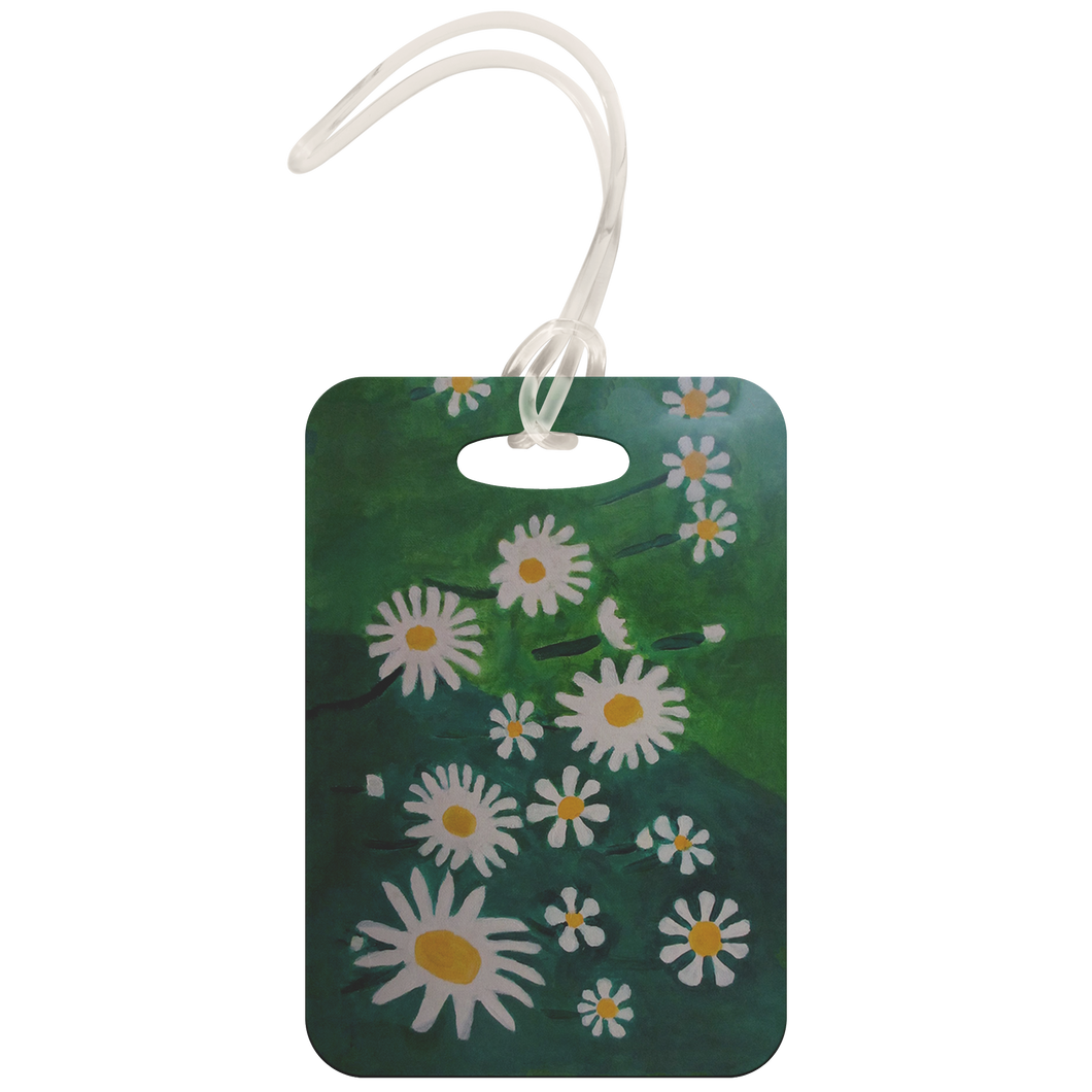 Daisies Luggage Tag