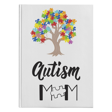 Autism Mom Hardcover Journal