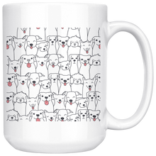 Load image into Gallery viewer, Doggie Friends Mug