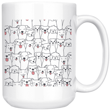 Doggie Friends Mug
